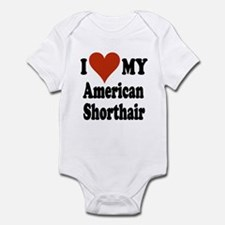 American Shorthair Infant Bodysuit