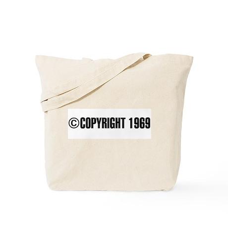 cCopyright 1969 Tote Bag