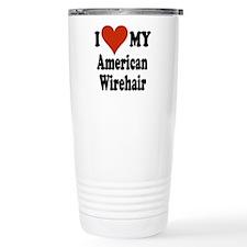 American Wirehair Travel Mug