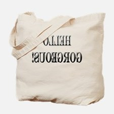 Cute Backwards Tote Bag