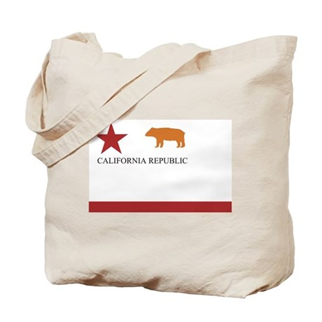 California Flag (old) Tote Bag