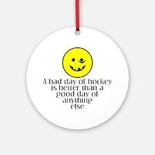 A bad day of hockey... Keepsake (Round)