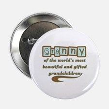 "Granny of Gifted Grandchildren 2.25"" Button"