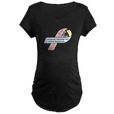 Abigail Long CDH Awareness Ribbon T-Shirt