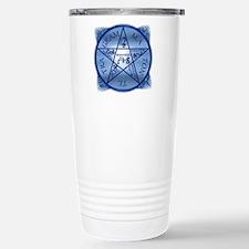 Solomon Pentagram Stainless Steel Travel Mug