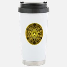 Solomon Hexagram Stainless Steel Travel Mug