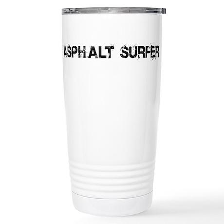 Asphalt Surfer Stainless Steel Travel Mug