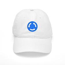 Roundabout Sign - Baseball Cap
