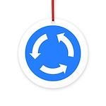 Traffic Circle Sign - Keepsake (Round)