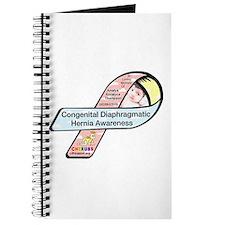 Amaiya Thompson CDH Awareness Ribbon Journal