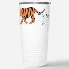 T is for Tiger Travel Mug