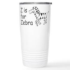 Z is for Zebra Travel Mug