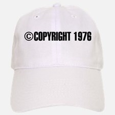 cCopyright 1976 Baseball Baseball Cap