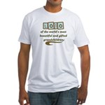 Lolo of Gifted Grandchildren Fitted T-Shirt