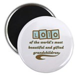 Lolo of Gifted Grandchildren Magnet