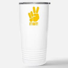 Peace It Out! Travel Mug