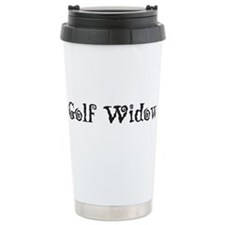 Golf Widow Travel Coffee Mug