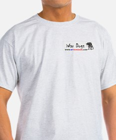 War Dogs Ash Grey T-Shirt