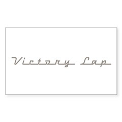 Victory Lap Decal