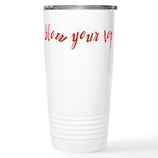 Blow Your Top Travel Mug