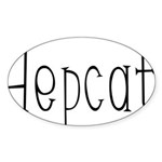 Hepcat Oval Sticker (10 pk)