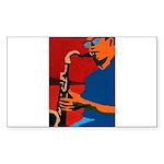 Plumbing Rectangle Sticker 10 pk)