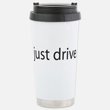 Just Drive Stainless Steel Travel Mug