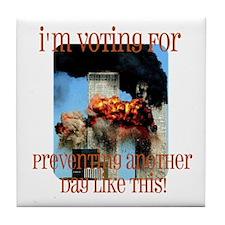 9-11 Tile Coaster
