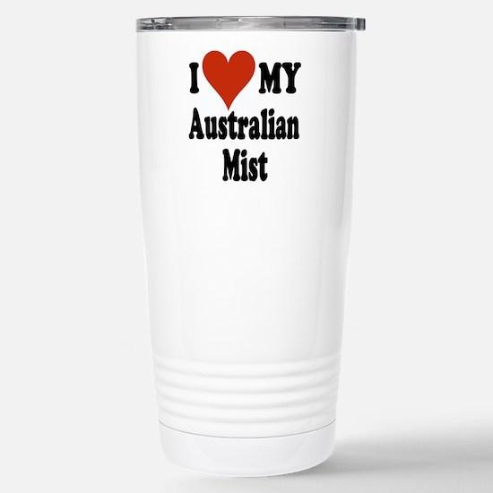 Australian Mist Stainless Steel Travel Mug
