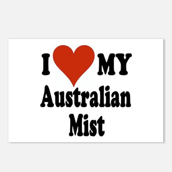 Australian Mist Postcards (Package of 8)