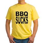 BBQ Sucks Yellow T-Shirt