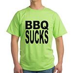 BBQ Sucks Green T-Shirt