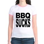 BBQ Sucks Jr. Ringer T-Shirt