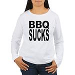 BBQ Sucks Women's Long Sleeve T-Shirt