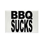 BBQ Sucks Rectangle Magnet