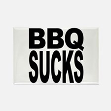 BBQ Sucks Rectangle Magnet