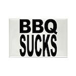 BBQ Sucks Rectangle Magnet (100 pack)