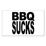 BBQ Sucks Rectangle Sticker