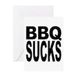 BBQ Sucks Greeting Card