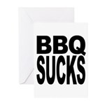 BBQ Sucks Greeting Cards (Pk of 10)