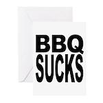 BBQ Sucks Greeting Cards (Pk of 20)