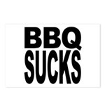 BBQ Sucks Postcards (Package of 8)