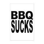 BBQ Sucks Mini Poster Print