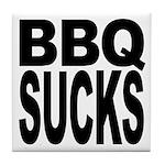 BBQ Sucks Tile Coaster