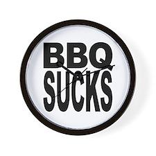 BBQ Sucks Wall Clock