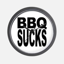 BBQ Sucks Wall Clock