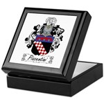 Piacentini Family Crest Keepsake Box