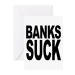 Banks Suck Greeting Cards (Pk of 10)