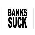 Banks Suck Postcards (Package of 8)