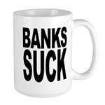 Banks Suck Large Mug